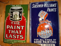 Historic Sherwin-Williams Paint Sign